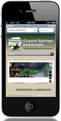 CS Land - Mobile Web Design